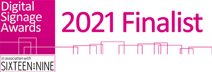 Digital Signage Awards Finalist 2021 Logo