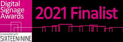 Digital Signage Awards Finalist 2021 Logo